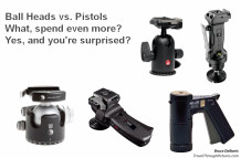 Tripod Heads: Ball vs Joystick Pistol