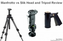 Manfrotto vs SLIK Heads
