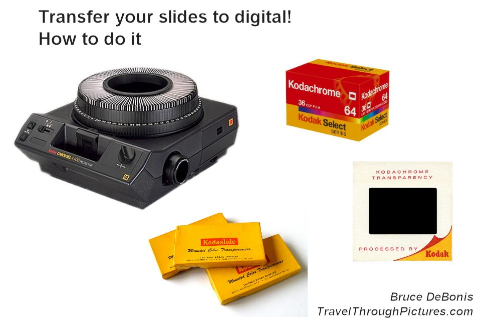35mm Slide To Digital Converter